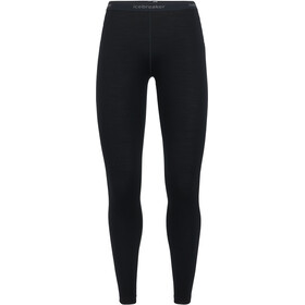 Icebreaker 260 Tech Leggings Mujer, black